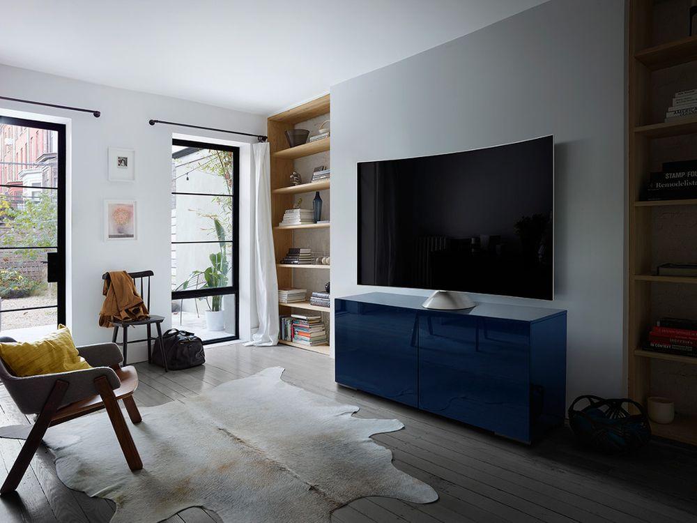pied gravity samsung vg sgsm11 pour tv qled. Black Bedroom Furniture Sets. Home Design Ideas