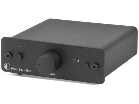 PROJECT Phono Box USB V DC Noir