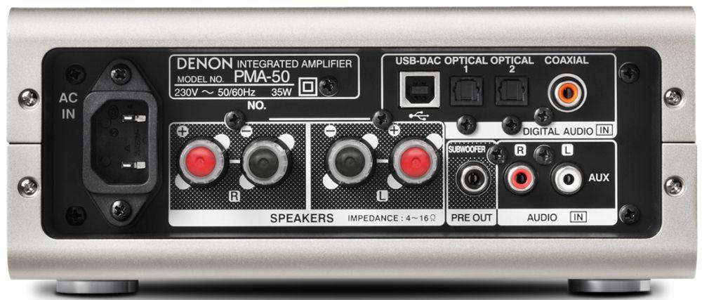 Ampli numérique Denon PMA-50