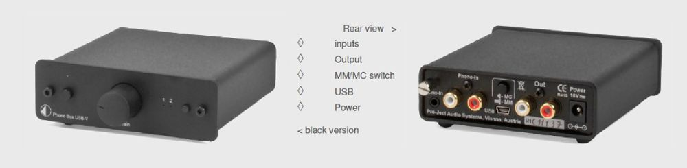 Project Phono Box USB V DC
