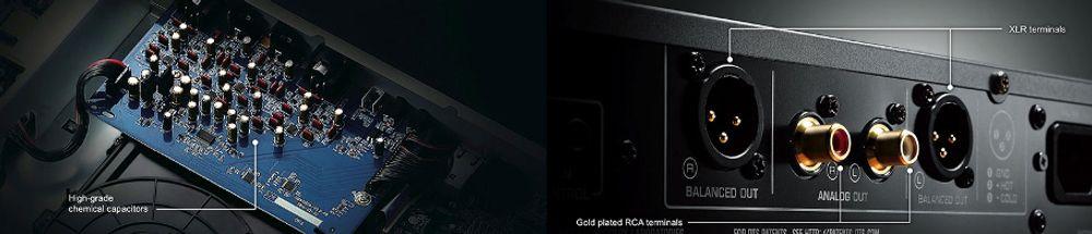 Lecteur Blu-ray avec sortie XLR et composants audiophiles Yamaha BD-A1060