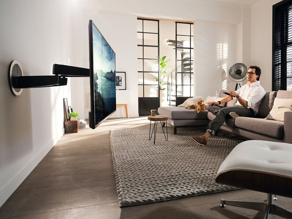 vogel 39 s designmount next 7355 support mural tv. Black Bedroom Furniture Sets. Home Design Ideas
