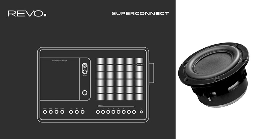 Radio FM RDS, DAB, DAB+ avec connectivité sans fil Bluetooth®, Wi-Fi™ et DLNA - REVO SuperConnect