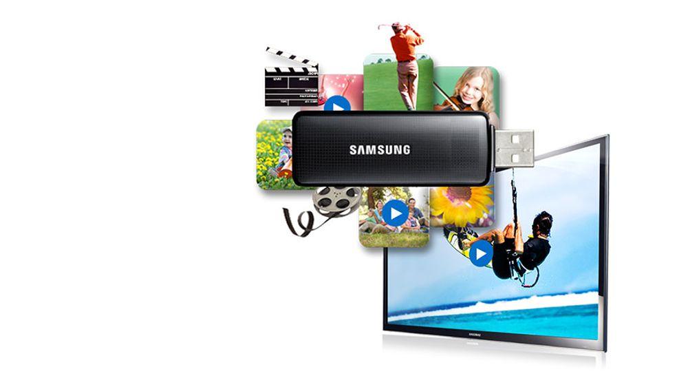 TV LED Full HD 1080p de 40 pouces avec function Connect Share - SAMSUNG UE-40K5100