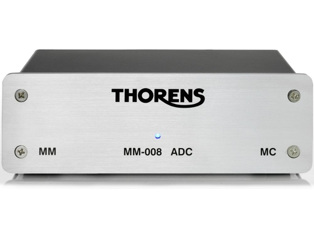 Le préampli phono Thorens MM-008 ADC est doté d'une sortie USB permettant la numérisation de vos vinyles en 24/96