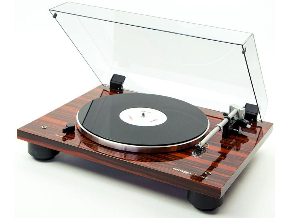 thorens td 206 macassar platines vinyle. Black Bedroom Furniture Sets. Home Design Ideas