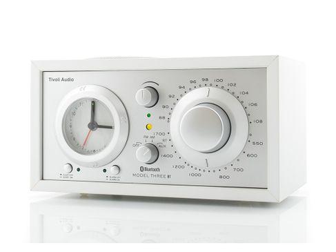 TIVOLI Model Three BT Blanc/Silver (Stock B)