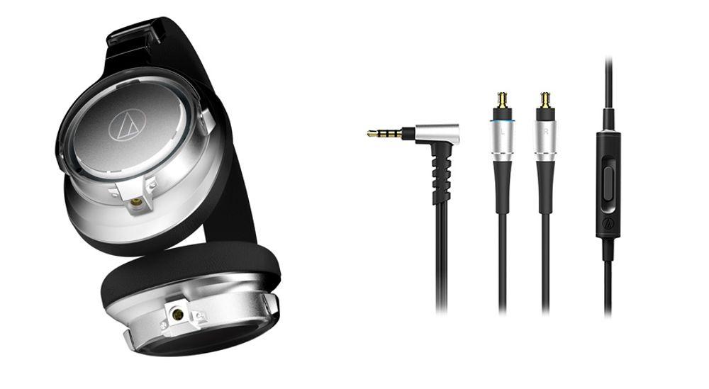 Casque audio fermé circum-aural Hi-Res Audio avec HP True Motion - AUDIO-TECHNICA ATH-SR9