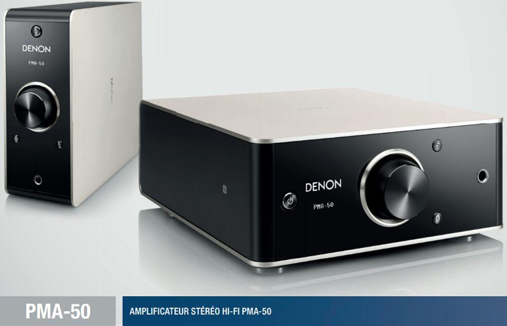 Ampli Classe D Denon PMA50