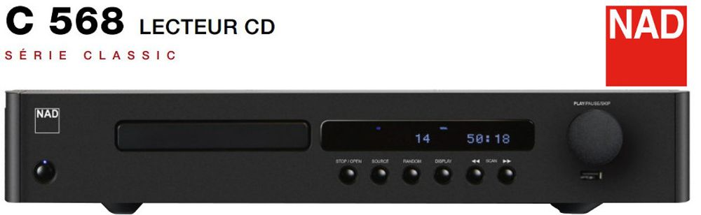 Lecteur CD NAD C568
