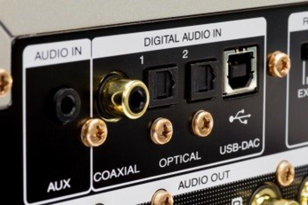 Une connectique très complète sur ce Marantz HD-DAC1