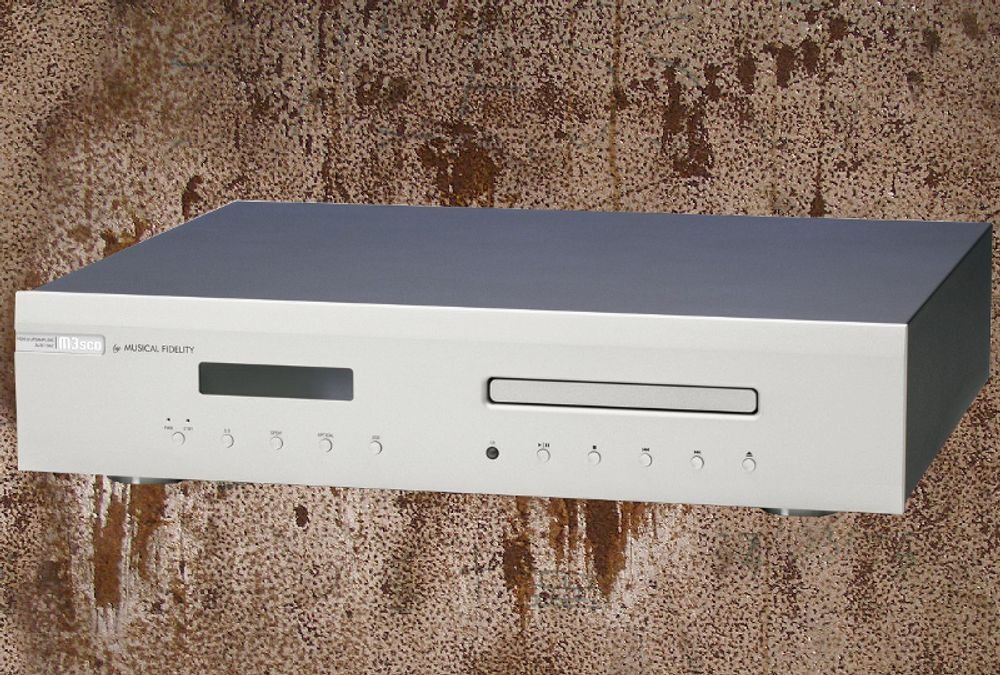 Version Silver du Musical Fidelity M3scd