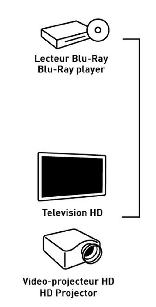 Erard Distributeur HDMI 1x2