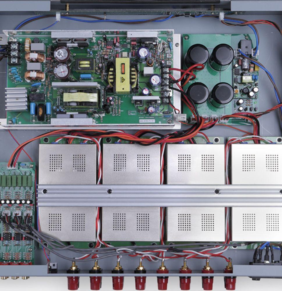 L'ampli multicanal NuForce MCA-20 a été conçu avec les meilleurs composants actuels