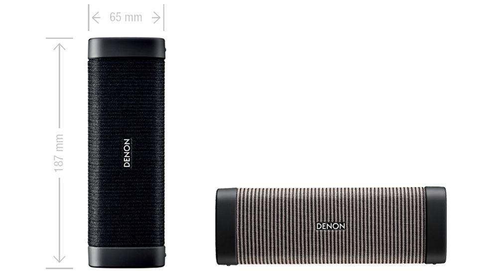 Denon envaya mini dsb 150bt noir enceinte sans fil for Enceinte wifi exterieur