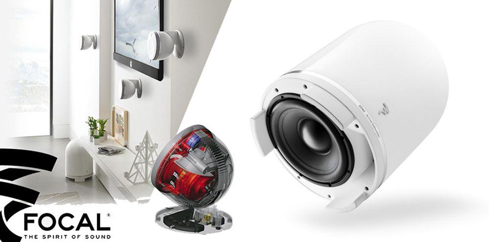 Pack d'enceintes Home cinéma 5.1 à technologie Dôme - FOCAL DOME 5.1