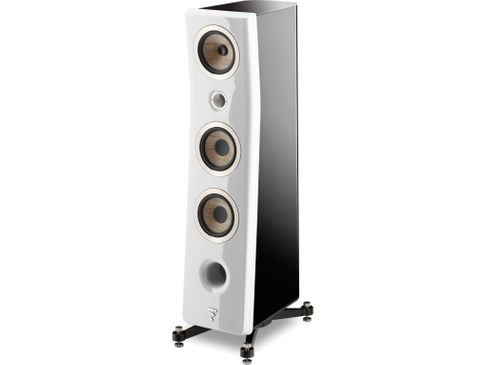FOCAL KANTA N°2 Black / Carrara White High Gloss
