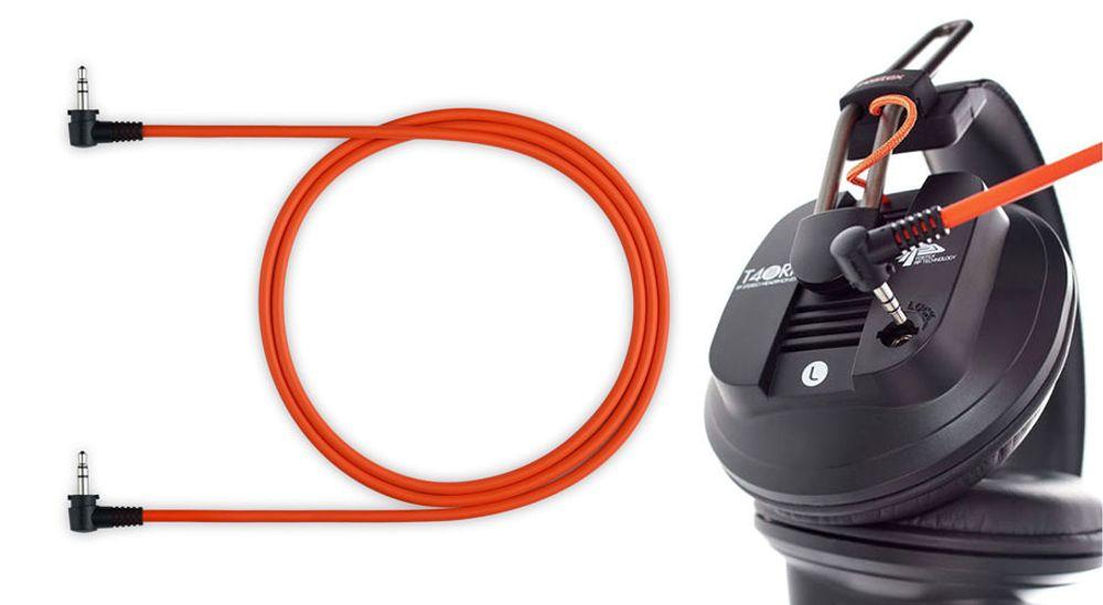 Casque audio professionnel fermé circum-aural avec cordons amovibles - FOSTEX T40RP mk3