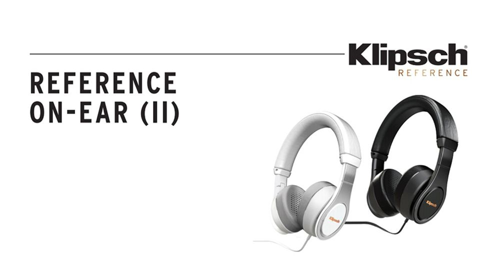 Casque audio supra-auriculaire avec fonction mains libres et certification Apple - KLIPSCH Reference On Ear II