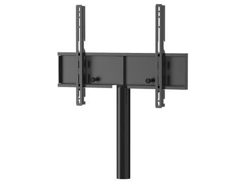 MELICONI Fixation TV rotative avec colonne noir