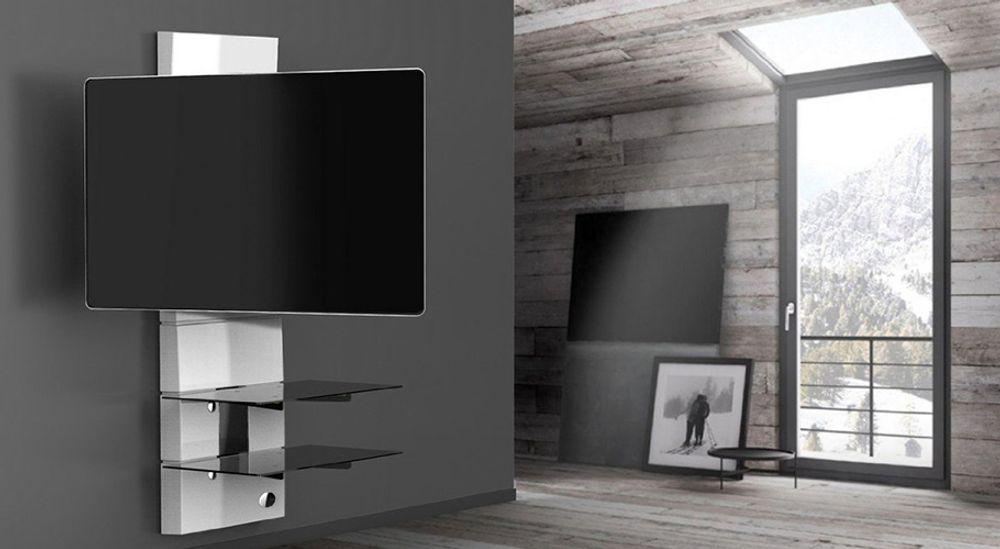 Support mural orientable pour TV écran plat de 32 à 63 pouces jusqu'à 30kg - MELICONI Ghost Design 3000 R