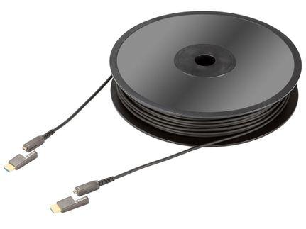 IN-AKUSTIK HDMI Micro 2.0 fibre optique (15m)