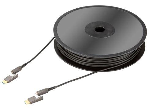 IN-AKUSTIK HDMI Micro 2.0 fibre optique (10m)