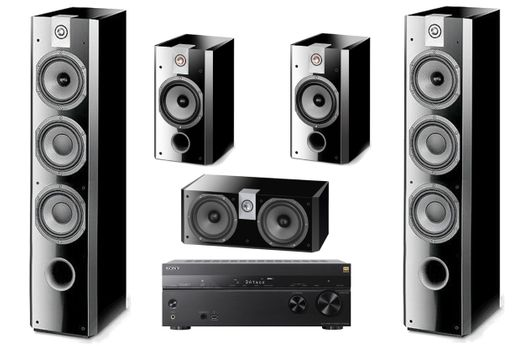 SONY STR-DN1080 + FOCAL PACK 726 High Gloss