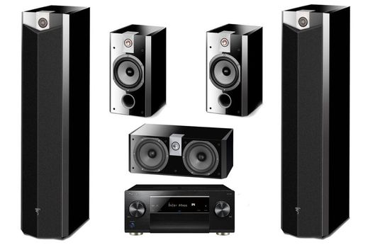 PIONEER SC-LX502 Noir + FOCAL PACK 716 High Gloss