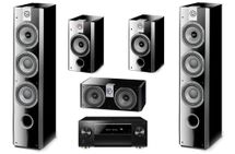 PIONEER SC-LX502 Noir + FOCAL PACK 726 High Gloss