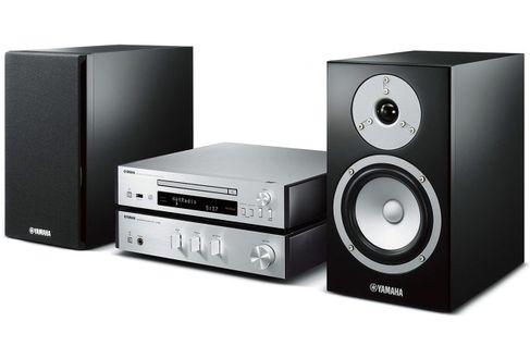 YAMAHA MusicCast MCR-N670D Silver + HP Piano Black
