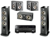 YAMAHA RX-A880 Noir + FOCAL Pack 5.0 Aria 926 Noir