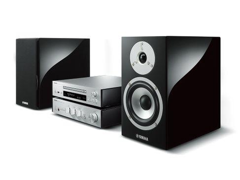 YAMAHA MusicCast MCR-N870 Silver+ HP Piano Black