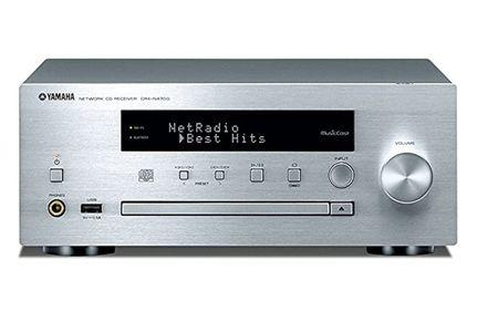 YAMAHA MusicCast CRX-N470D Silver