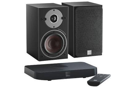 DALI OBERON 1C Noir x 2 + SOUND HUB COMPACT