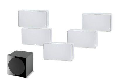 Pack 5.1 JAMO D500 Blanc THX Select 2 + FOCAL SUB 600P