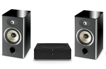 SONOS AMP Noir + FOCAL ARIA 906 Black High Gloss