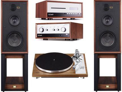 Leak Stereo 130 + CDT + Teac TN-4D + Wharfedale Linton Heritage Walnut
