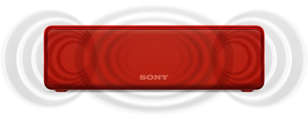 Sony SRS-HG1 Rouge Extra Bass